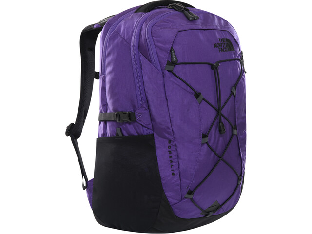The North Face Borealis Backpack Women peak purple ripstop/TNF black
